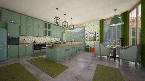 royal kitchen - Classic - Kitchen - by lamzoi