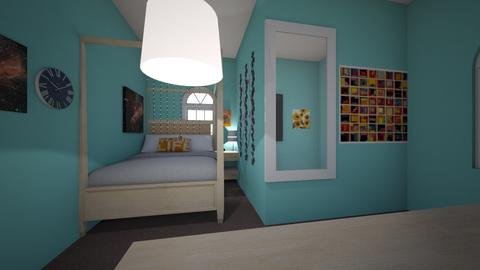 House - Bedroom - by lildivajo
