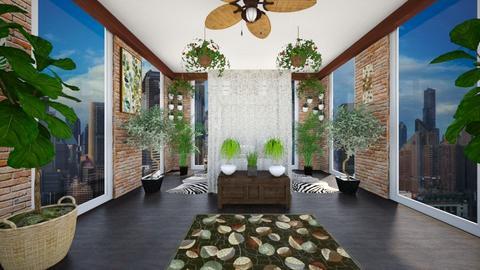 Urban Jungle - Bedroom - by SammyJPili
