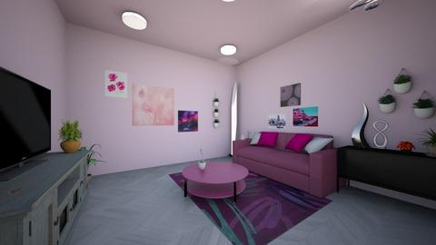 Pinkish - Glamour - Living room - by SpicyMcPie