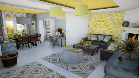 Living design - Living room - by MonA13