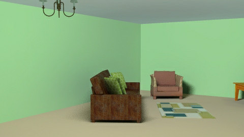 Living And Dining Room - Dining room - by kittycatluver13