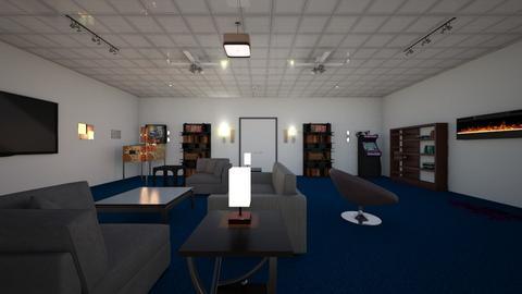 Luxury Bunker - Living room - by WestVirginiaRebel