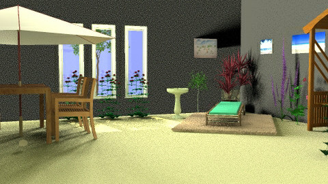A outside room - by jenny_