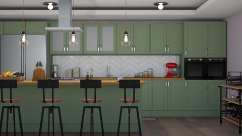 Elica - Kitchen - by aletamahi