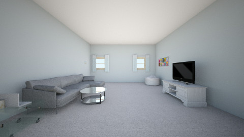 Downstairs Living Room - Glamour - Living room - by mariavagi