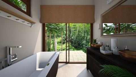 tropical Bath - Classic - Bathroom - by Muoz Rebeca