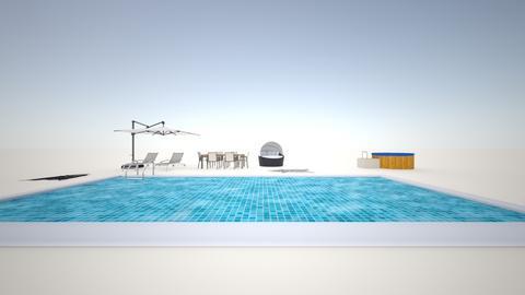 pool - Garden - by Mudcat56