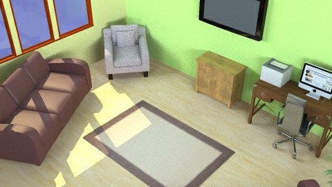 A Bit Beachy Living Room - Living room - by kittycatluver13