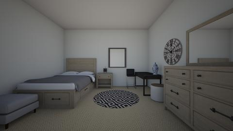french assignment 1 - Bedroom - by 350150884