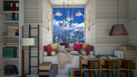 Book Nook - Eclectic - by Laurika