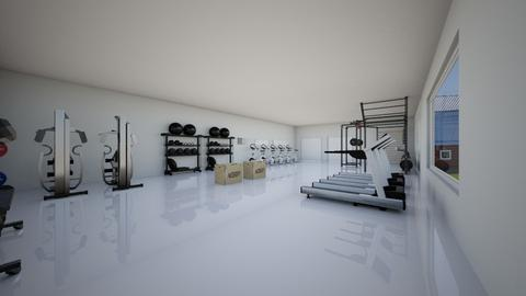 gym - by smithpetraf