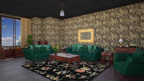 Classy Cool Living Room - Retro - Living room - by Psweets