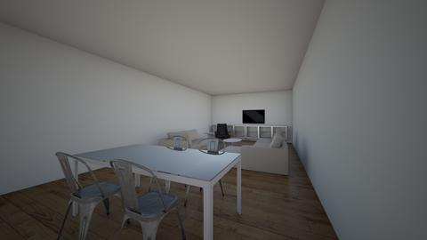 Andrea opcion 2 - Living room - by karlitajmlm