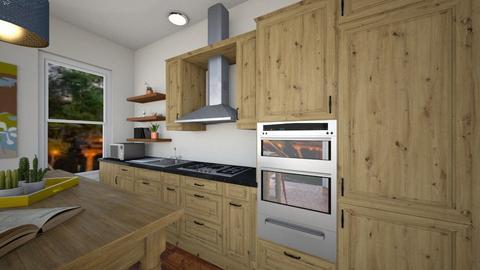 Crafty Home style Kitchen - Kitchen - by Linde Hubbard