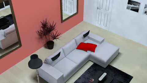 Pratical + stylish Living room - Living room - by Catia7