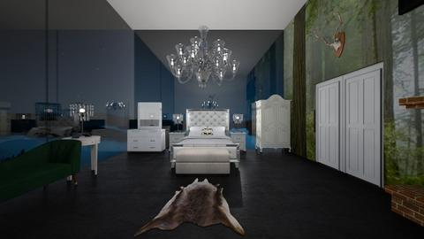 The Hunting Lodge - Bedroom - by SammyJPili