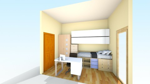 Room Project 1  - Bedroom - by SuperNata