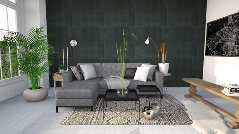 Living Room - Minimal - by SarahJW