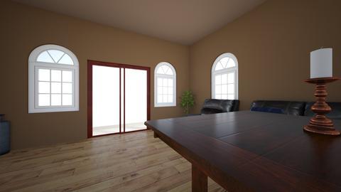 josh - Living room - by josholiver