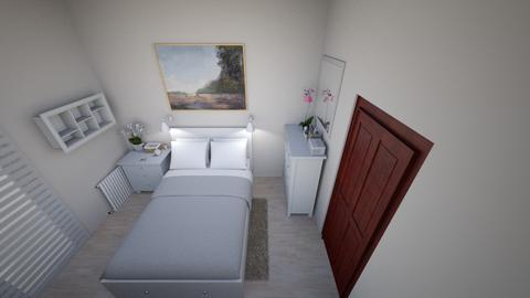 Sypialnia cioci Basi 02 - Bedroom - by Anna_Be