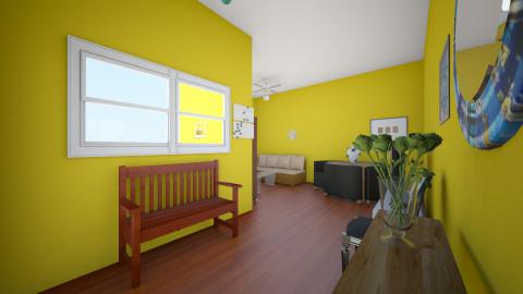 entrada - Living room - by Emelyn Cristal Rosario