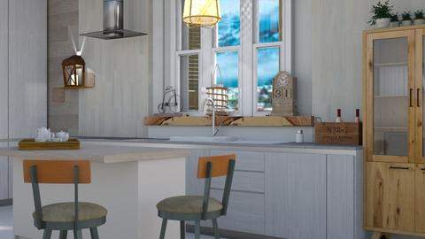 Scandi kitchen - Modern - Kitchen - by augustmoon