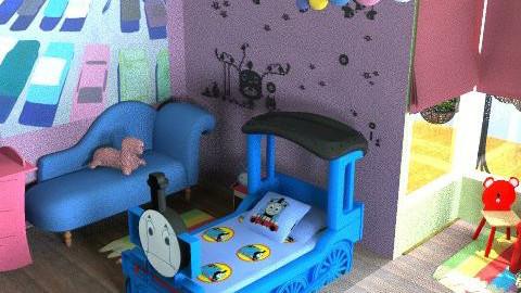 childhood memories 2 - Kids room - by oskecan