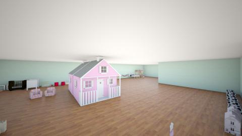 Kidde palace - Kids room - by Allison Stewart
