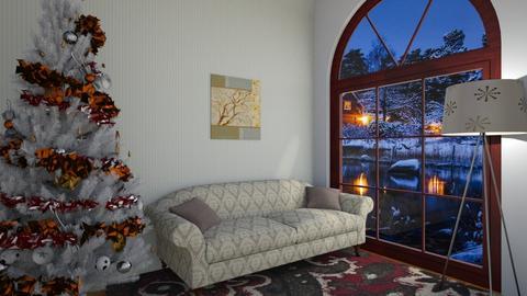 Christmas tree - Classic - Living room - by Twerka