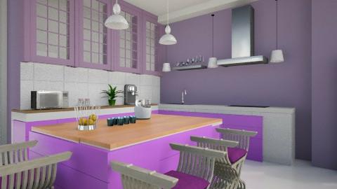 Lilas - Kitchen - by Elisa Gate
