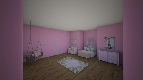 girls room - Glamour - Kids room - by Jleh5202