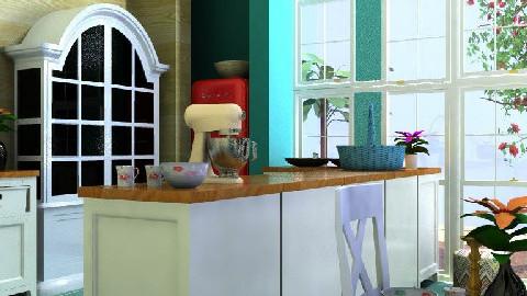 Provencale - the Kitchen - Kitchen - by Reena Z