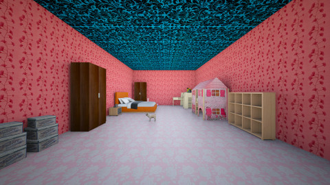 BEDROOM GIRL - Bedroom - by javi2014