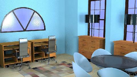 Modern Office - Modern - Office - by kittycatluver13