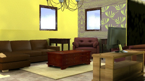 Brooke's Living Room #1 - Living room - by kittycatluver13