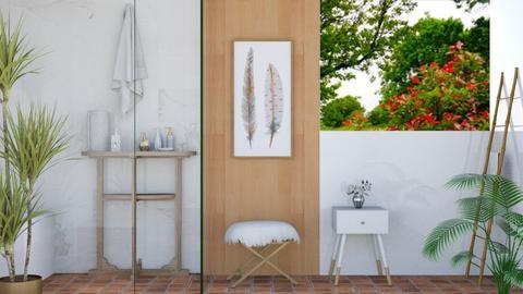 A Hint of Spring - Modern - Bathroom - by millerfam