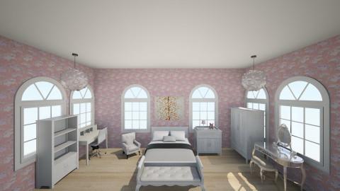 Popular Girl Room - Classic - Bedroom - by Okeanos