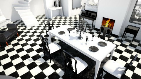 traditional twist - Dining room - by chelseajade