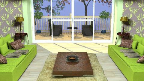 Retro Living Room - Retro - Living room - by tomlong