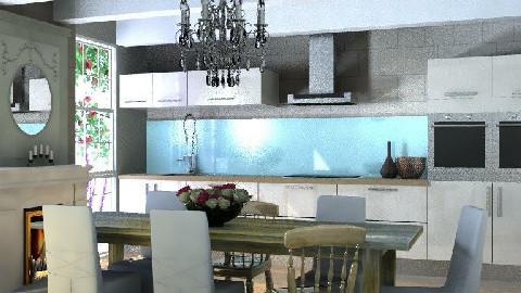 Modern Country Kitchen - Modern - Kitchen - by 3rdfloor
