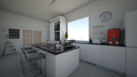Minimal kitchen - Minimal - Kitchen - by krisztinaa