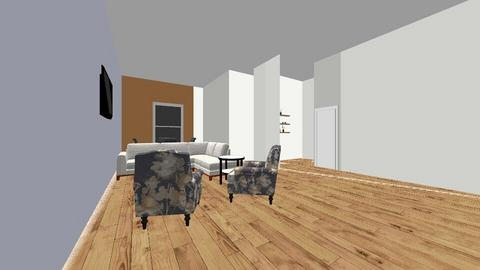 State Home Project - Modern - Living room - by Fields0918