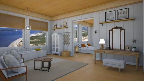 Sandra Annette Bullock - Country - Bathroom - by Elenn