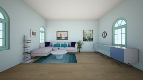sea - Living room - by kotki