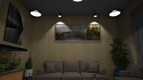 Simple Live 3 - Minimal - Living room - by GalangPratama