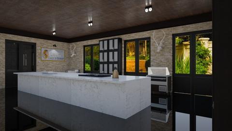 Leonard Albert Kravitz - Eclectic - Kitchen - by Elenn