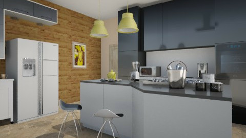 yellow - Modern - Kitchen - by Mi Hipolito