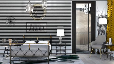 M_Metal - Bedroom - by milyca8