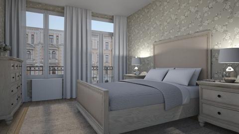 Second Street Bedroom - by Valentinapenta